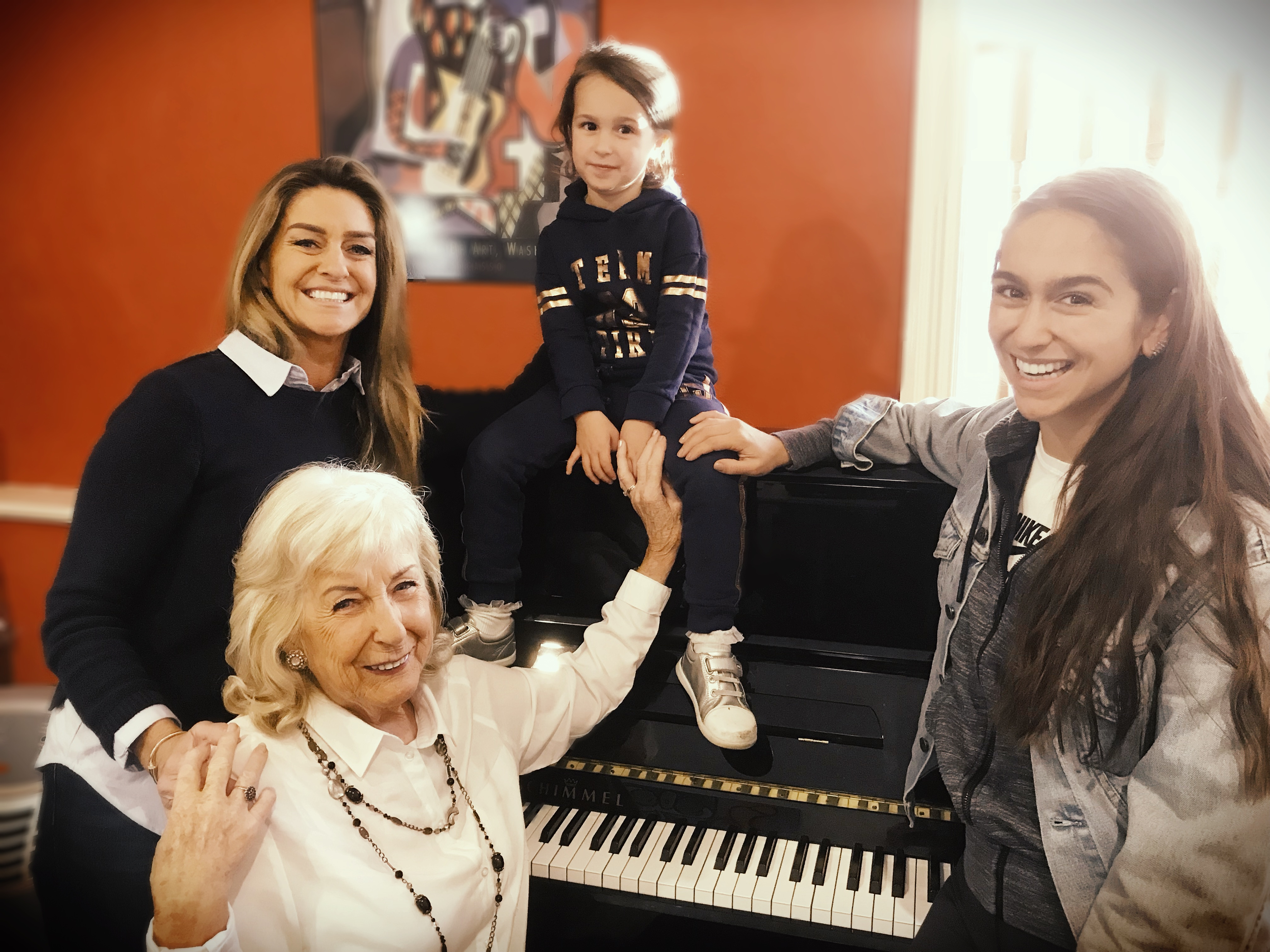 Four generations of music – a family affair!